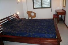 Master bedroom met ruimte voor extra bed