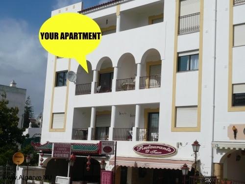 Een van onze twee appartementen met zwembad in de Algarve apartment