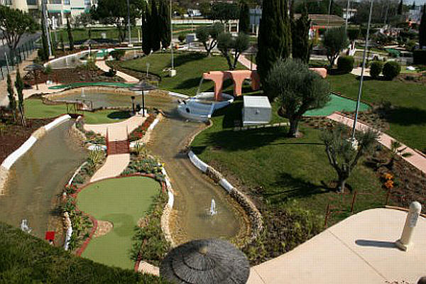 Mini Golf in de Algarve