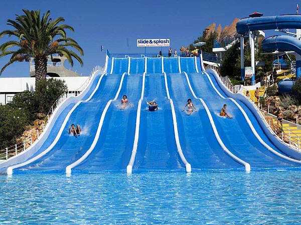 Waterparken Algarve - Slide and Splash